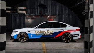 BMW M5 Safety Car 4