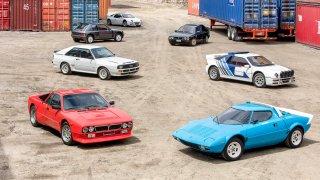 Největší legendy rallye v jediné hvězdné superaukci