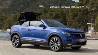 Auto news: Volkswagen T-ROC Cabrio, Land Rover Defender, GMC Yukon, Ferrari Roma