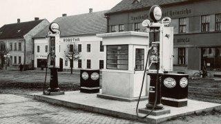 historie čerpacích stanic