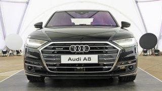 Audi A8 v Poděbradech 1