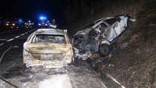 Nehoda, která změnila dálnici D1 v ohnivé peklo, nemá viníka. Cisterně praskla pneumatika