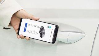Hyundai  - digitální klíč