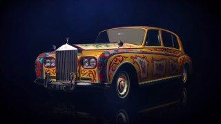 Limuzína z duhy. Prohlédněte si psychedelický Rolls-Royce Johna Lennona