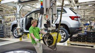 Automobilový průmysl dosáhl v roce 2017 vynikajících výsledků