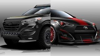 Divoké verze vozů Hyundai pro veletrh SEMA
