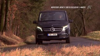 Test Mercedesu-Benz V 300d Exclusive L 4MATIC