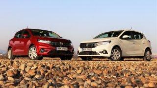 Test: Dacia Sandero 1.0 SCe vs. 1.0 TCe. Bez turba jezdí jako dacia, s turbem připomíná Renault Clio