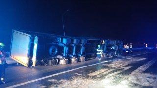 Nehoda na okruhu v Praze