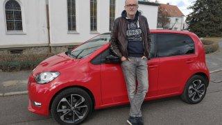 Odpůrce elektromobilů otestoval elektrickou Škodu Citigo e iV. Chválil dojezd, zápasil s klimatizací