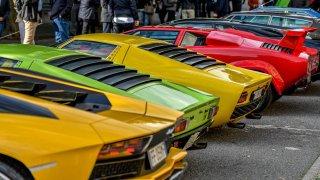 Lamborghini zadečky