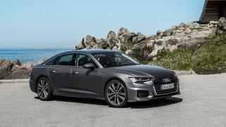 Audi vyšší střední třídy modelový rok 2018