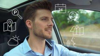 Bosch ukončil chaos tlačítek v kokpitu a změnil hlasového asistenta na pasažéra vozidla