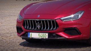 Recenze italského sporťáku Maserati Ghibli GrandSport S Q4