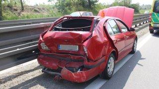 Nehoda Dodge