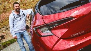 Toyota Corolla a Jan Říha