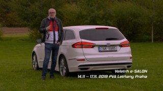 E-Salon: Recenze manažerského kombi Ford Mondeo Hybrid