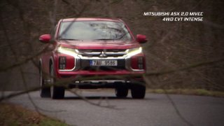 Test modernizovaného Mitsubisi ASX 2.0 MIVEC 4WD CVT Intens