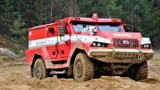Díky ruské agresi ve Vrběticích získali čeští hasiči dva obrněné obry. Titan a Triton chrání životy