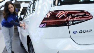 Volkswagen výroba e-Golf