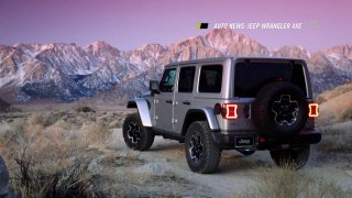 Auto news: Jeep Wrangler 4xe