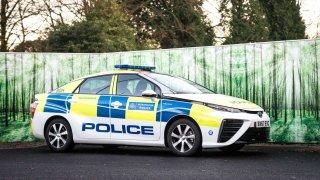 Toyota Mirai pro policii Londýn