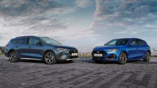 Ford Focus po modernizaci přišel o větší motory i tlačítka. Vrcholná verze ST zůstala