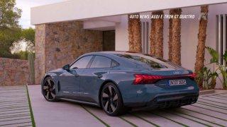 Auto news: Nissan Frontier, Audi e-tron GT, Mercedes-Benz třídy C a Porsche 911 GT3 RS