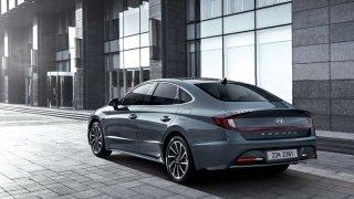 Hyundai nabídl první pohled na nový model Sonata