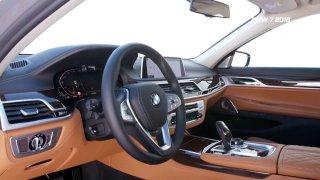 Luxusní sedan BMW řady 7 - facelift pro rok 2019