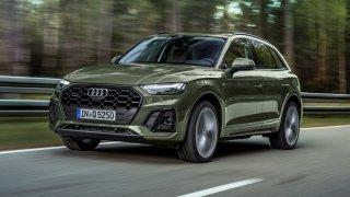 Modernizované Audi Q5 si umí nastavit na semaforech zelenou vlnu. Zatím bude s jediným motorem