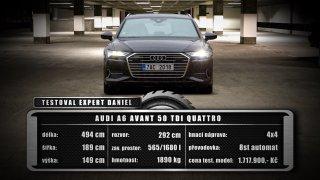 Audi A6 Avant 50 TDI – závěrečné hodnocení  1