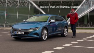 Recenze Volkswagenu Arteon Shooting Break 2.0 TSI Elegance
