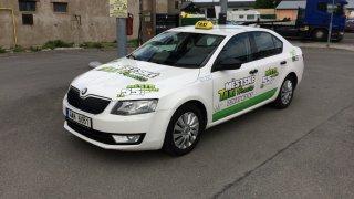 Škoda Octavia G-TEC taxi