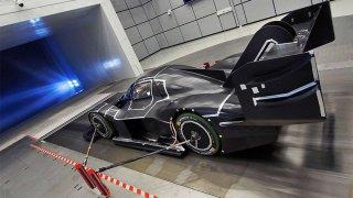 Průkopnická aerodynamika pro Volkswagen I.D. R Pikes Peak