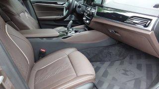BMW M550d interier  4