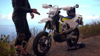 Test motorky Husqvarna 701 Supermoto - 2.díl