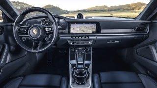 Porsche 911 interiér 2