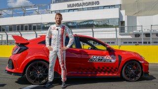Jenson Button uzavřel výzvu CivicType R Challenge 2018