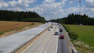 Nejhorší dírou v republice byla vyhlášena celá dálnice D1