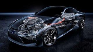 Lexus LC 500h využívá unikátní hybridní pohon