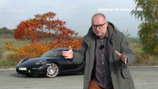 Test sportovního kupé Porsche 718 Cayman S PDK