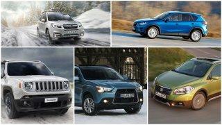 S touto pěticí bazarových SUV přežijete zimu daleko snadněji a nesáhnete si ani hluboko do kapsy
