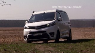 Recenze obytného vozu Toyota Crosscamp 2.0 D-4D