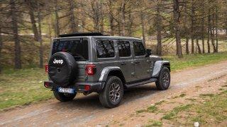 Jeep Wrangler Sahara 4xe