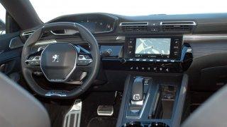 Peugeot 508 interiér 1