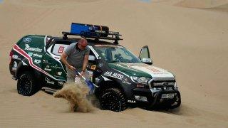 Rallye Dakar media tým
