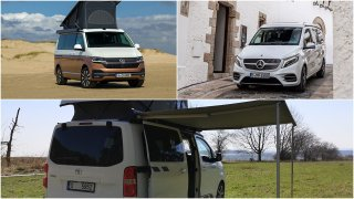 Porovnání obytných aut: Toyota Crosscamp vs. Mercedes Marco Polo a Volkswagen California