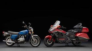 Honda Goldwing byla původně litrovým naháčem a zle se prodávala. Cesťák se z ní stal postupem času