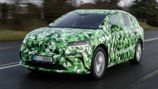 Nový elektromobil Enyaq iV bude ve verzi RS nejvýkonnější škodovkou všech dob. Požene ho až 306 koní